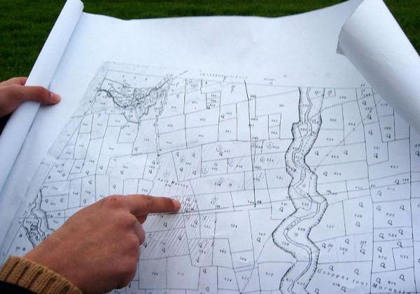 были Основные сведения об определении площадей землепользований межевание была